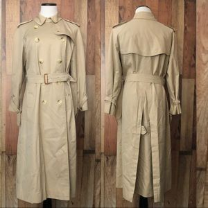Burberry - vintage trench coat 12 Long